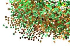 Kolorowi gwiazda confetti fotografia stock
