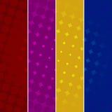 Kolorowi Halftone tła Zdjęcie Royalty Free