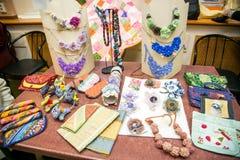 Kolorowi handmade ornamentals Obraz Stock