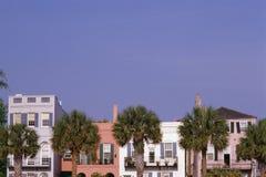 Kolorowi historyczni domy Zdjęcia Stock