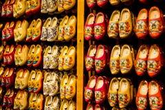 Kolorowi holenderów chodaki Zdjęcie Stock