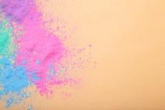 Kolorowi holi proszki zdjęcie royalty free