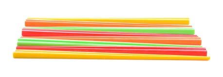 Kolorowi inkasowi chopsticks odizolowywający na białym tle Zdjęcie Royalty Free