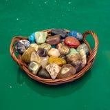 Kolorowi kamienie Zdjęcia Stock