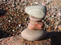 Kolorowi kamienie abstrakcjonistyczni Obraz Royalty Free