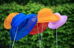 kolorowi kapelusze Obraz Royalty Free