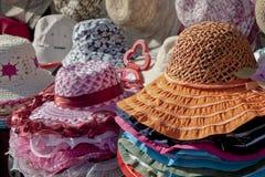 kolorowi kapelusze Zdjęcie Royalty Free