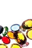 kolorowi klejnoty zdjęcia stock