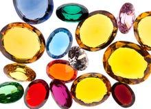 kolorowi klejnoty obraz stock