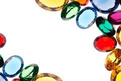 kolorowi klejnoty Zdjęcia Royalty Free