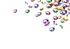kolorowi klejnoty zdjęcie stock