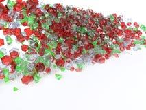 kolorowi klejnoty zdjęcie royalty free