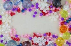 Kolorowi koraliki fotografia royalty free