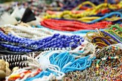 Kolorowi koraliki zdjęcia royalty free