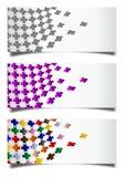 Kolorowi krzyże ilustracji