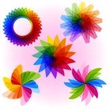 kolorowi kształty Zdjęcia Stock