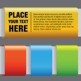 kolorowi kształty Obraz Stock