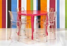 Kolorowi lampasy Zdjęcia Royalty Free
