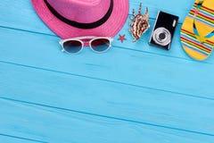 Kolorowi lato kobiet akcesoria Zdjęcia Royalty Free