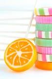 Kolorowi lollypops Fotografia Royalty Free