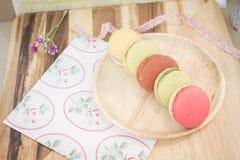 kolorowi macarons zdjęcie stock
