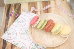 kolorowi macarons obrazy royalty free