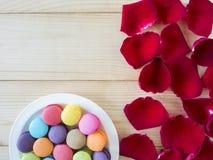 Kolorowi macarons 24 Fotografia Royalty Free
