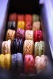 kolorowi macaroons zdjęcie stock