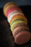 kolorowi macaroons Obrazy Stock