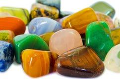 kolorowi makro- kamienie Fotografia Royalty Free