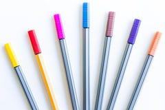 Kolorowi markierów pióra Obraz Stock