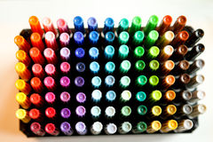 kolorowi markiery Fotografia Stock