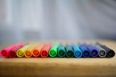 Kolorowi markiery, Obraz Royalty Free