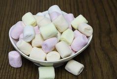 kolorowi marshmallows Zdjęcie Stock