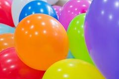 Kolorowi śmieszni balony Fotografia Royalty Free
