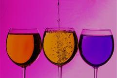 Kolorowi napoje Zdjęcia Stock