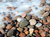 kolorowi naturalni kamienie Zdjęcie Stock