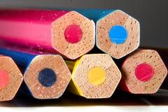 Kolorowi ołówki zdjęcie royalty free
