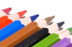 Kolorowi ołówki zdjęcia stock