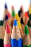 kolorowi ołówki Zdjęcie Stock