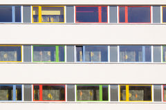 Kolorowi okno Fotografia Royalty Free