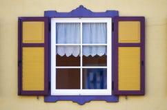 Kolorowi okno Zdjęcie Stock