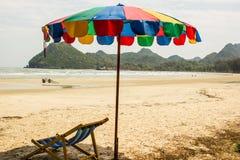 Kolorowi parasole piękni Zdjęcia Royalty Free