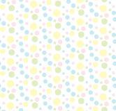 Kolorowi pasteli/lów okręgi Fotografia Stock