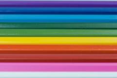 kolorowi pastelowi kije Fotografia Stock