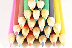 kolorowi pióra Obrazy Stock