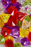 Kolorowi plastikowi koraliki makro- Zdjęcia Royalty Free