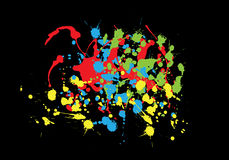 kolorowi pluśnięcia Ilustracja Wektor