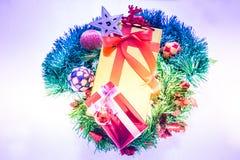 Kolorowi prezentów pudełka Piękni Zdjęcia Royalty Free