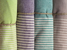 Kolorowi ręczniki Fotografia Stock